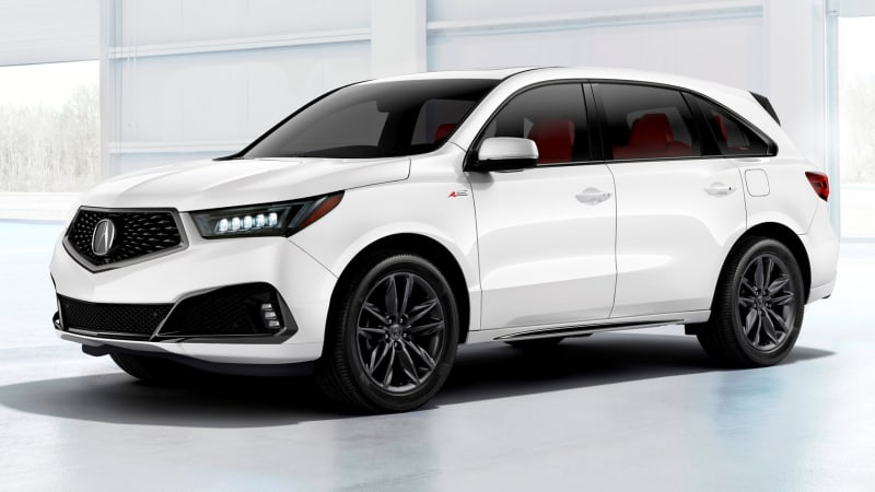 2019 Acura RDX debuts in N.Y. with A-Spec version and ...
