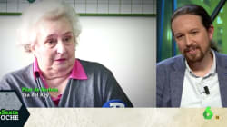 La tajante respuesta de Pablo Iglesias a la tía del rey por sus palabras sobre