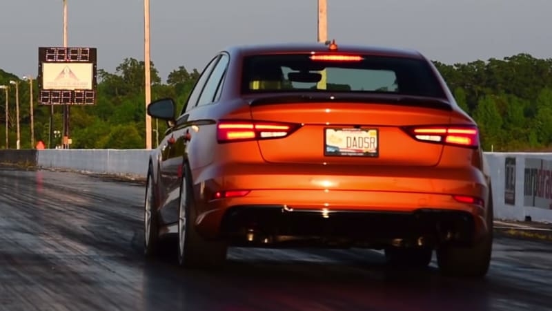 Audi Srt: Modified Audi RS3 Is Nearly As Quick As A Dodge Challenger