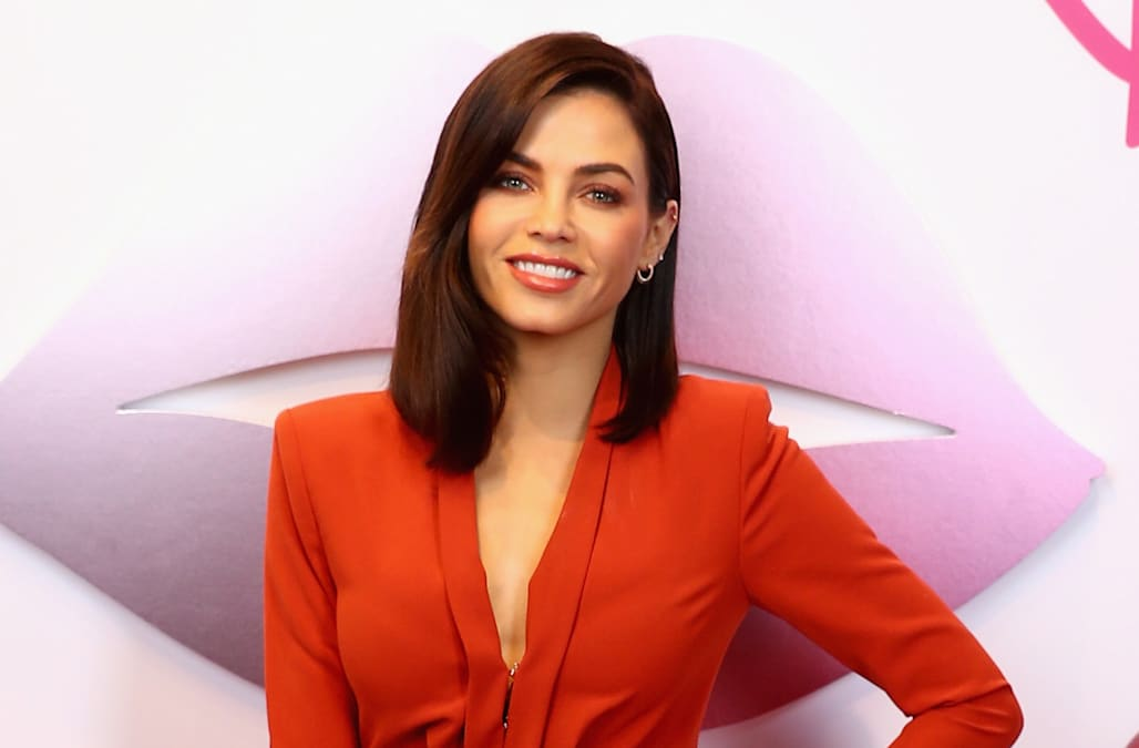 Jenna Dewan looked back on her days as a Texan cheerleader: 'Glitter was a way of life'