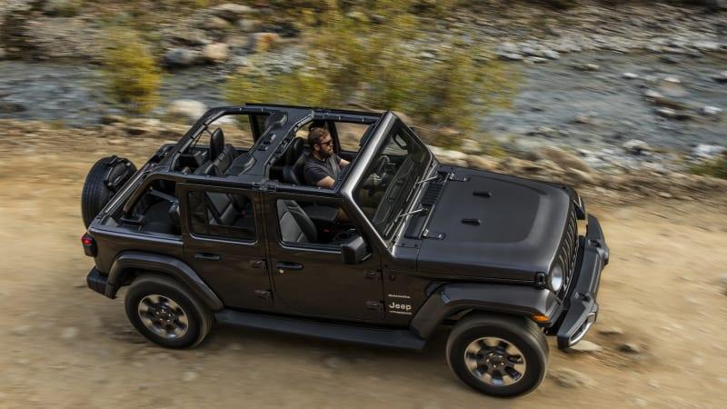 Wrangler jeep latest jeep wrangler jl prototype with for Zappone motors clifton park