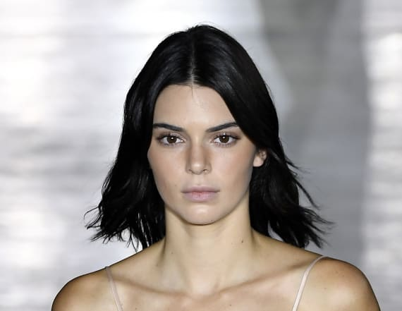 Kendall returns to the runway again for MFW