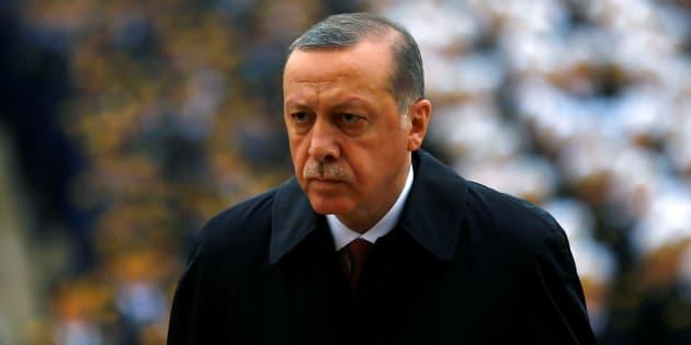 Le président turque Tayyip Erdogan à Ankara le 29 octobre 2016. REUTERS/Umit Bektas