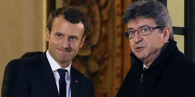 """Comment Macron tente de """"tuer"""" la gauche et la stratégie de Mélenchon pour résister."""