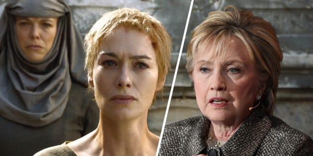 Clinton trouve que les pro-Trump l'ont traitée comme Cersei pendant sa marche de la honte