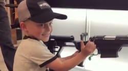 La vidéo de cet enfant américain manipulant une arme fait froid dans le