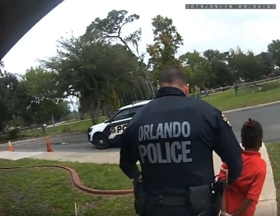 Body cam captures 6-year-old's pleas during arrest