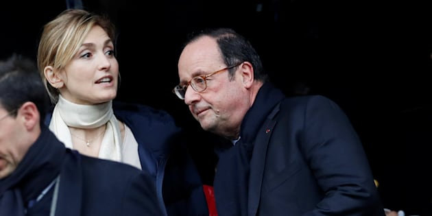 Julie Gayet trouve François Hollande