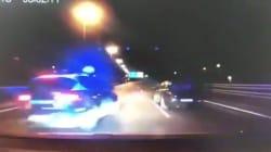 Una maniobra de película: así detuvo la Policía el coche de unos ladrones en