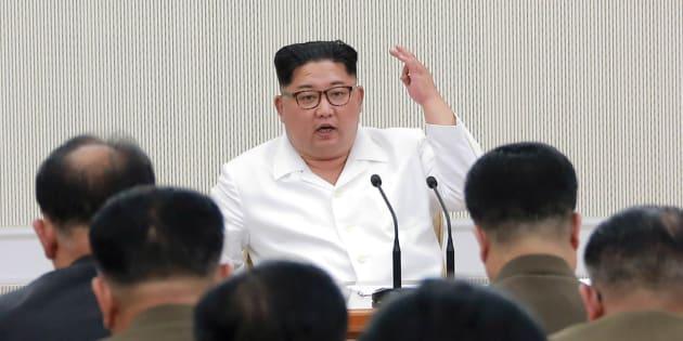 La Corée du Nord a démantelé son site d'essais nucléaires : Kim Jong Un le 18 mai.