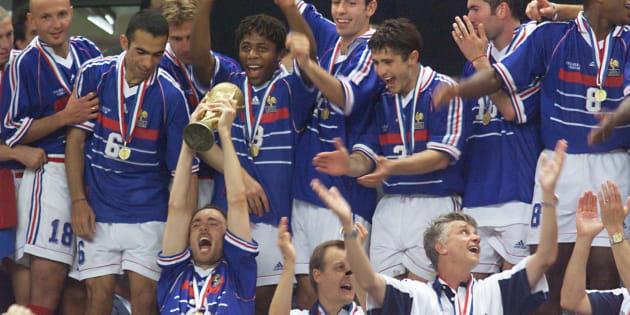 France 98 un match de gala sur tf1 pour les 20 ans de la victoire en coupe du monde le - France 98 coupe du monde ...