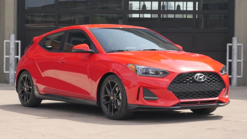 2019 Hyundai Veloster Turbo R Spec Video Review Autoblog