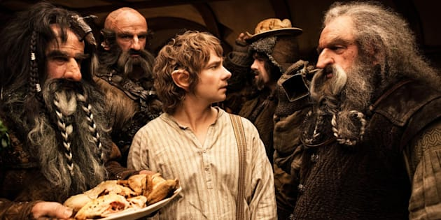 Stojanovski's client William Kircher, left, played Bifur in The Hobbit: An Unexpected Journey.