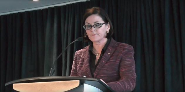 Diane Francoeur, présidente de la Fédération des médecins spécialistes.