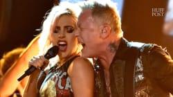 Le chanteur de Metallica a eu un problème de micro aux Grammys (et il s'est