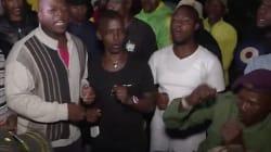 Les images des chants en hommage à Winnie Mandela, à