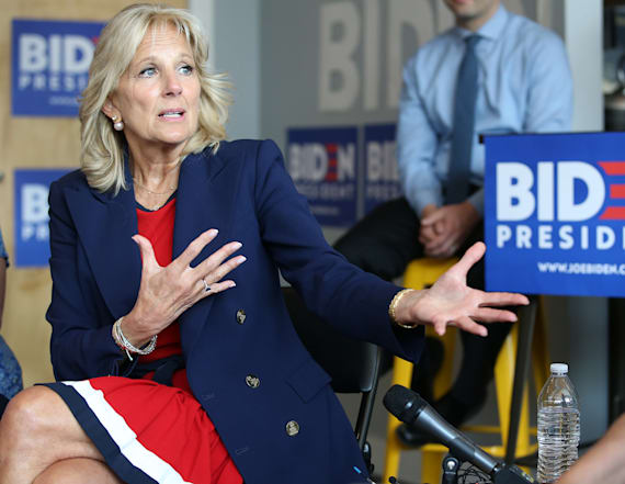 Jill Biden makes candid pitch to voters about Joe