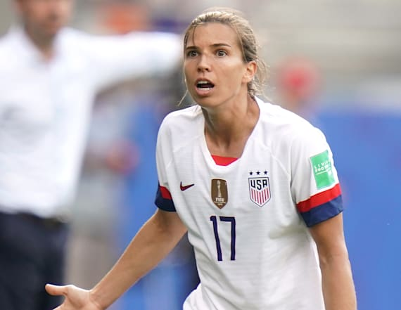 Reporter asks if USWNT will let France win