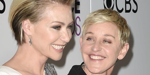 Ellen DeGeneres e Portia de Rossi completaram 15 anos de união neste início de dezembro.