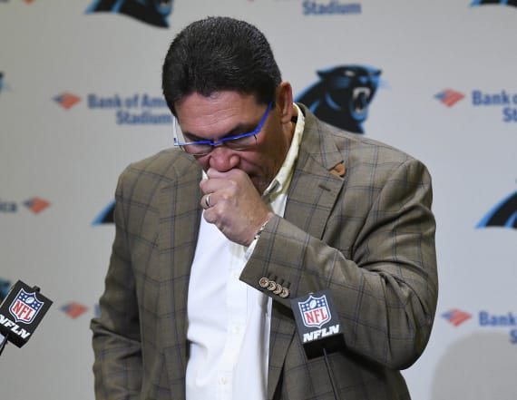 Ron Rivera reveals his biggest regret with Panthers