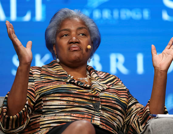 Donna Brazile tells critics to 'go to hell'