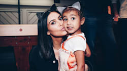 Kim Kardashian Doesn't Care For Criticism Of Her Daughter's Faux