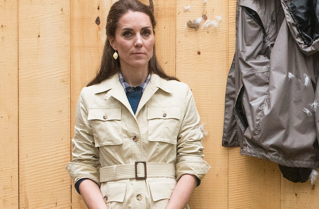 79d940ee7d640 Did Kate Middleton steal her safari jacket from Prince Charles ...