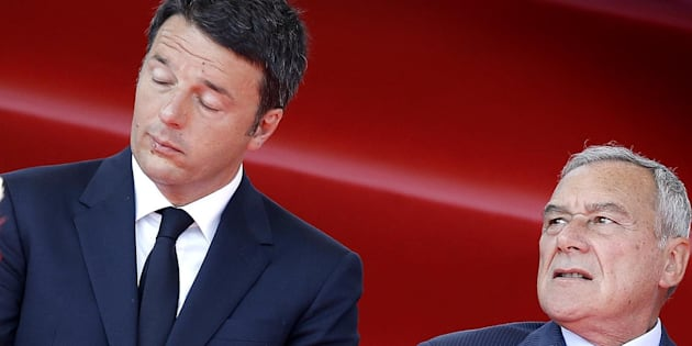 Matteo Renzi e Pietro Grasso in una foto di archivio  ANSA/GIUSEPPE LAMI