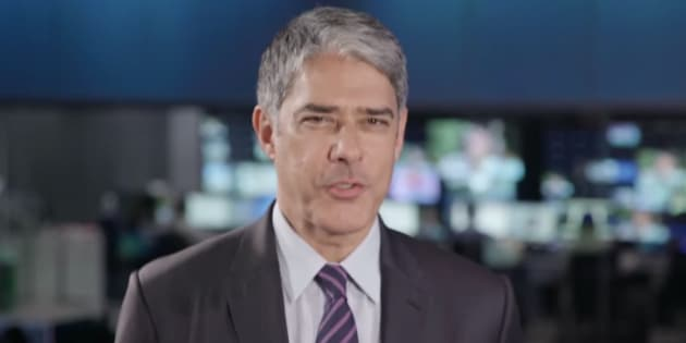 William Bonner comanda sabatina do Jornal Nacional com presidenciáveis.