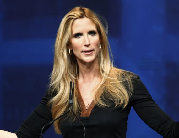 Ann Coulter warns 'any white male can be accused'