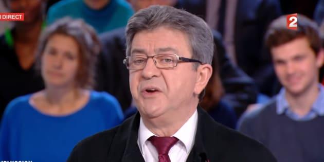 """Pour Mélenchon, Hulot """"a fait une lourde erreur"""" en devenant ministre"""