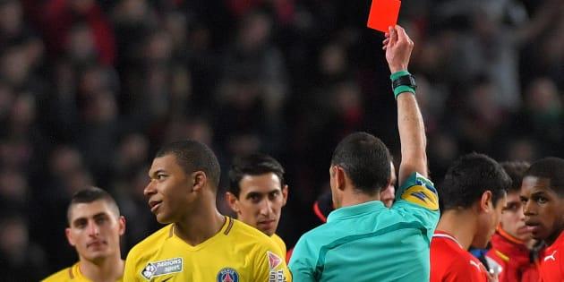 Rennes-PSG: Kylian Mbappé exclu grâce à l'arbitrage vidéo.
