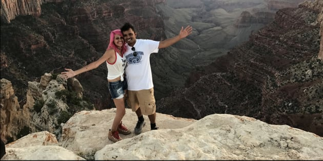 The Indian couple who died from a 800-feet fall at Yosemite National Park.