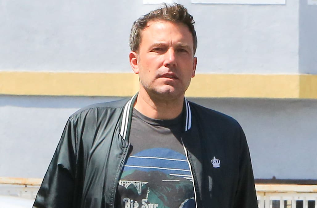 Ben Affleck is staying...