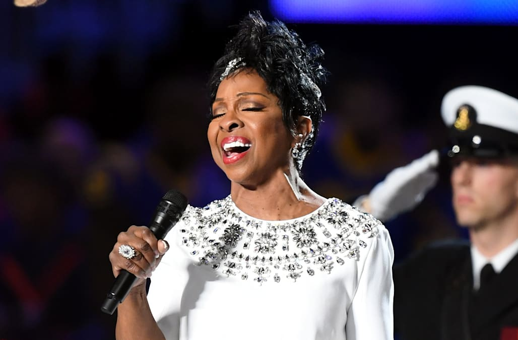 Image result for GLADYS KNIGHT NATIONAL ANTHEM