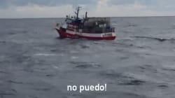 El desesperado mensaje del pesquero español Nuestra Madre de Loreto: