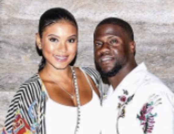 Kevin Hart and Eniko Parrish end spit rumors