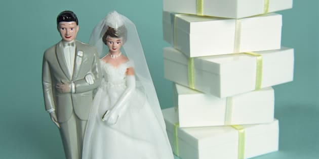 Your wedding is not a chance to grab the most expensive presents possible.