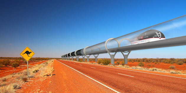 Australia has a spacious landscape primed for a super-fast Hyperloop.