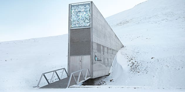 """""""L'arche de la fin du monde"""" prend l'eau avec le réchauffement climatique"""