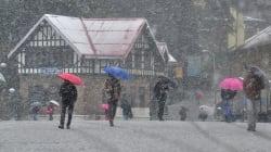 Heavy Snowfall In Shimla Disrupts Power And Water Supply, Cripples