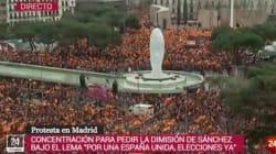 TVE pide disculpas por lo que ha ocurrido en pleno directo durante la manifestación derechista en