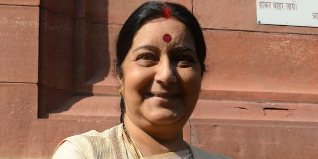 File photo of External Affairs Minister Sushma Swaraj.
