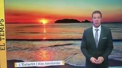 Sorpresa por lo que ha hecho este hombre del tiempo de TV3 en pleno