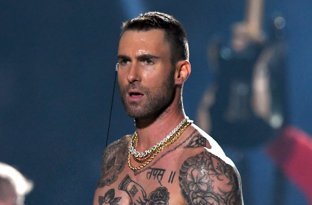 c9e924cc Super Bowl VIII: Fans ask why Adam Levine could show his nipples, but Janet  Jackson couldn't