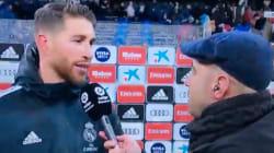 La tremenda pifia verbal de Sergio Ramos en plena entrevista en 'BeIN