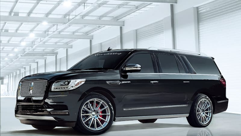Lincoln Suv 2018 >> The 2018 Hennessey Lincoln Navigator Has 600 Horsepower Autoblog