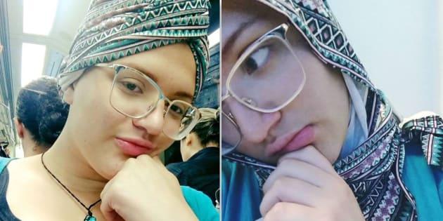 Jovem com câncer foi abordada para retirar o turbante.