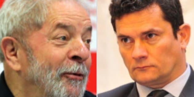 Moro e Lula estão pela primeira vez frente-a-frente — Brasil