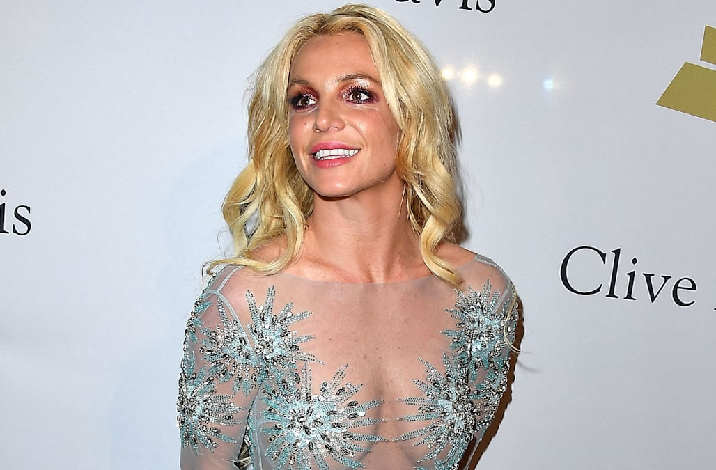 grammys 2017 where was britney spears see the pic she